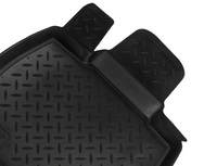 Коврики салона VW Passat CC 2008-> с бортиками полиуретановые черные