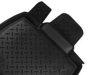 Коврики салона VW Passat B7 Sed 2011-> с бортиками полиуретановые черные