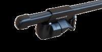 """Багажник """"Муравей"""" для UAZ Patriot с рейлингами с дугами 1,4м в пластике"""