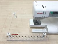 Приставной столик прозрачный Janome 491-703-015 для машин MyExcel 1221, 7518, 7524, 90E
