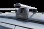 """Багажная система """"LUX"""" с дугами 1,3м аэро-классик (53мм) для а/м Mitsubishi Outlander III, внедорожник, 2012-н.в. с интегрированным (низким) рейлингом"""