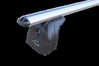 """Багажная система """"LUX"""" с дугами 1,2м аэро-классик (73мм) для а/м Volvo XC60 I, внедорожник, 2008-н.в. с интегрированным (низким) рейлингом"""