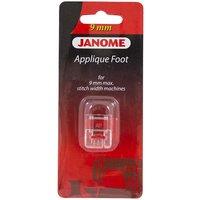 Лапка  Janome 202-086-002 для аппликаций прозрачная