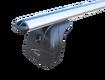 """Багажная система """"LUX"""" с дугами 1,2м аэро-классик (53мм) для а/м Toyota Fortuner 2015-... г.в. с интегр. рейл."""