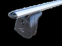 """Багажная система 2 """"LUX"""" с дугами 1,1м аэро-классик (53мм) для а/м Lada Xray Cross 2018-... г.в. с инегр. рейлингами"""
