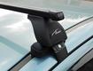 """Багажная система """"LUX"""" с дугами 1,2м прямоугольными в пластике а/м Nissan Qashqai 2014-... г.в."""