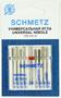 Иглы SCHMETZ комбинированные 70-100, 8+1 шт.