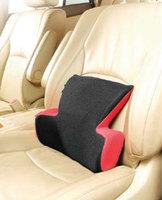 Подушка для поддержки поясницы (серия T) красно/черная латекс