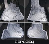 Коврики салона VW Passat B6 2005-2011 с бортиками серые (4 части)