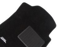 Коврики салона текст.Ford Explorer V 2010-> (3 ряда сид.) (U502) LINER 3D Lux с бортиком черные (с консолью)