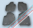 Коврики салона Toyota Yaris 5D 1998-2005 с бортиками полиуретановые