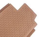Коврики салона Lexus IS250 с бортиками коричневые РАЗНОЦВЕТНЫЕ (4 части)