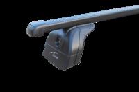 """Багажная система """"LUX"""" с дугами 1,2м прямоугольными в пластике для а/м Volvo XC60 I, внедорожник, 2015-н.в.с интегрированным (низким) рейлингом"""