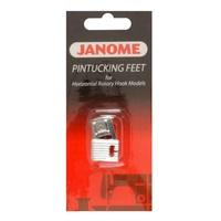 Лапки Janome 200-317-009 для защипов 5 и 7 желобков