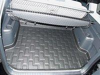 Коврик багажника Mitsubishi Pajero IV 2007-> серый TPR