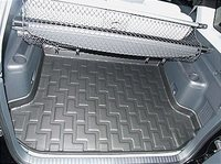 Коврик багажника Honda CR-V III 2007-> серый TPR