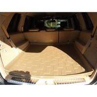 Коврик багажника Mitsubishi Pajero IV 2007-> коричневый TPR