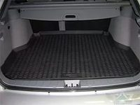 Коврик багажника Hyundai Solaris 2010-> (для автом. со склад.сид.) с бортиком